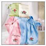 Badetücher - Handtuch - Rose - romantisch