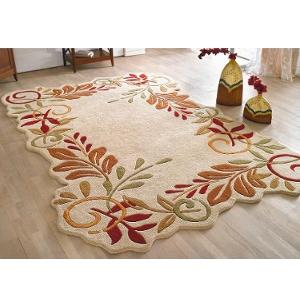 Teppich Naturmotiv - Schurwolle