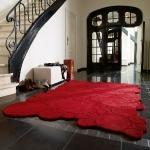 Teppiche - Esprit Design Teppich - Kreise rot