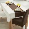 Tischwäsche - Tischläufer einfach - in braun