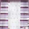 Vorhang Fertigschal violett gestreift