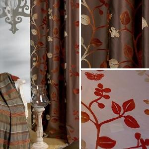Vorhänge - Vorhang Bristol - Flockdruck